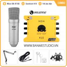 Combo XOX K10 // AT100