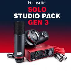 Focusrite Scarlett Solo Studio (Gen 3)