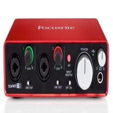 Focusrite Scarlett 2i2 (Gen 2) | Interface | Soundcard | Like New